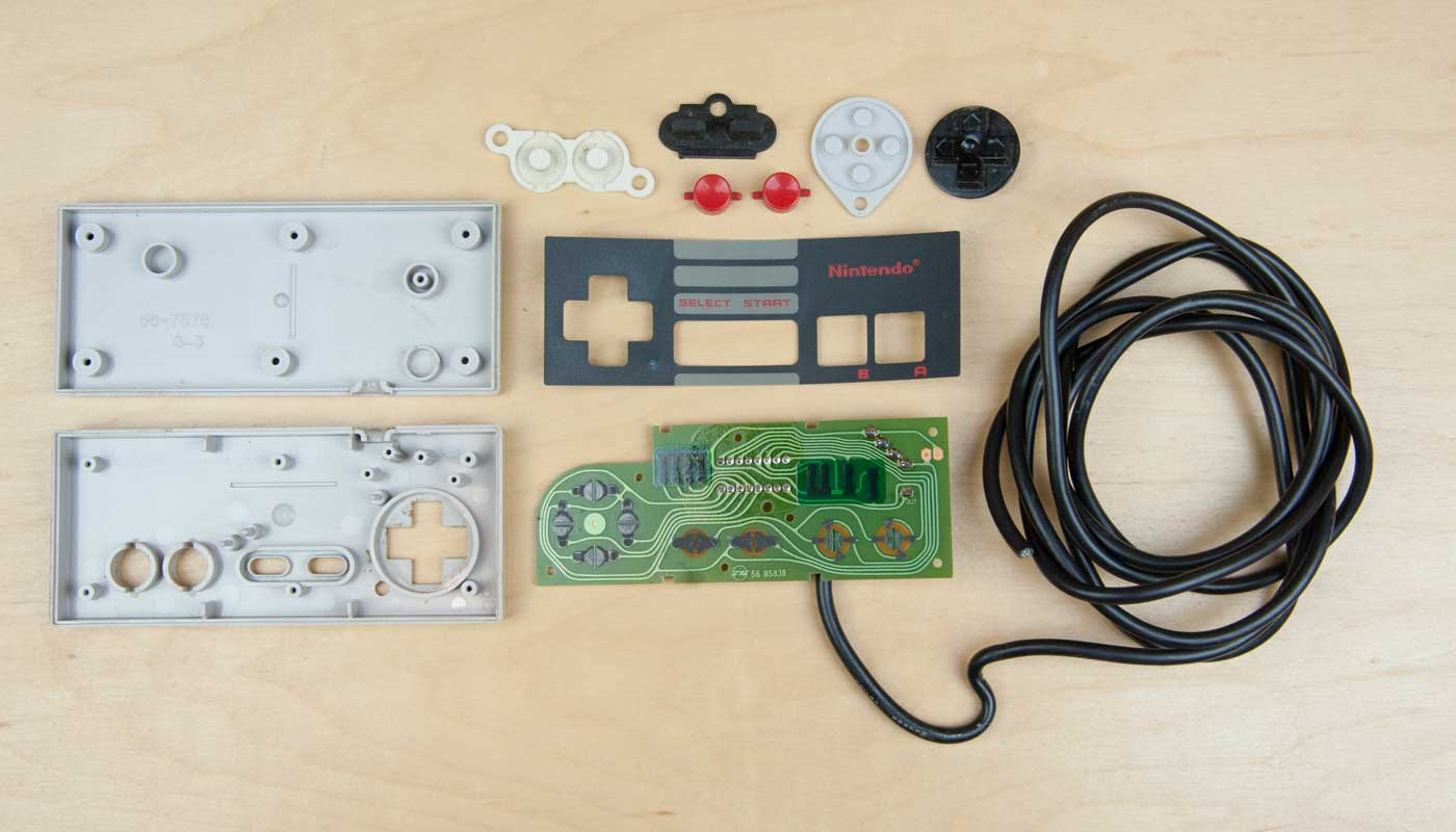 Nintendo Nes Controller Wiring Diagram Trusted Teardown Part 1 Ps3
